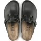 Preview: Birkenstock Boston Clog, schwarz, normale Weite